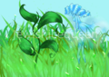 Syl, Grass and Lifesprens.png